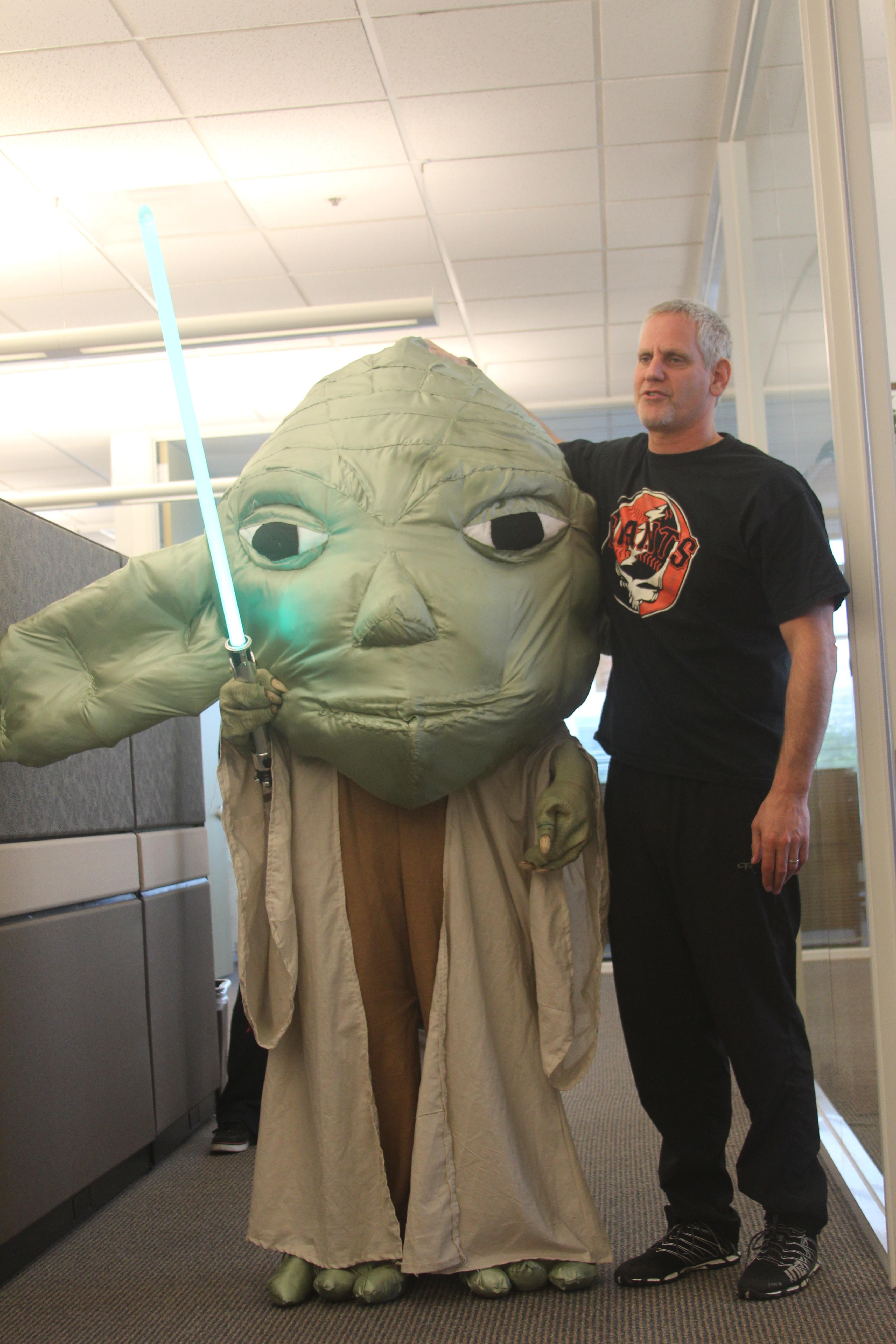 wearing the Yoda costume on Halloween  sc 1 st  XWiki & XWiki - Main - YodaWear