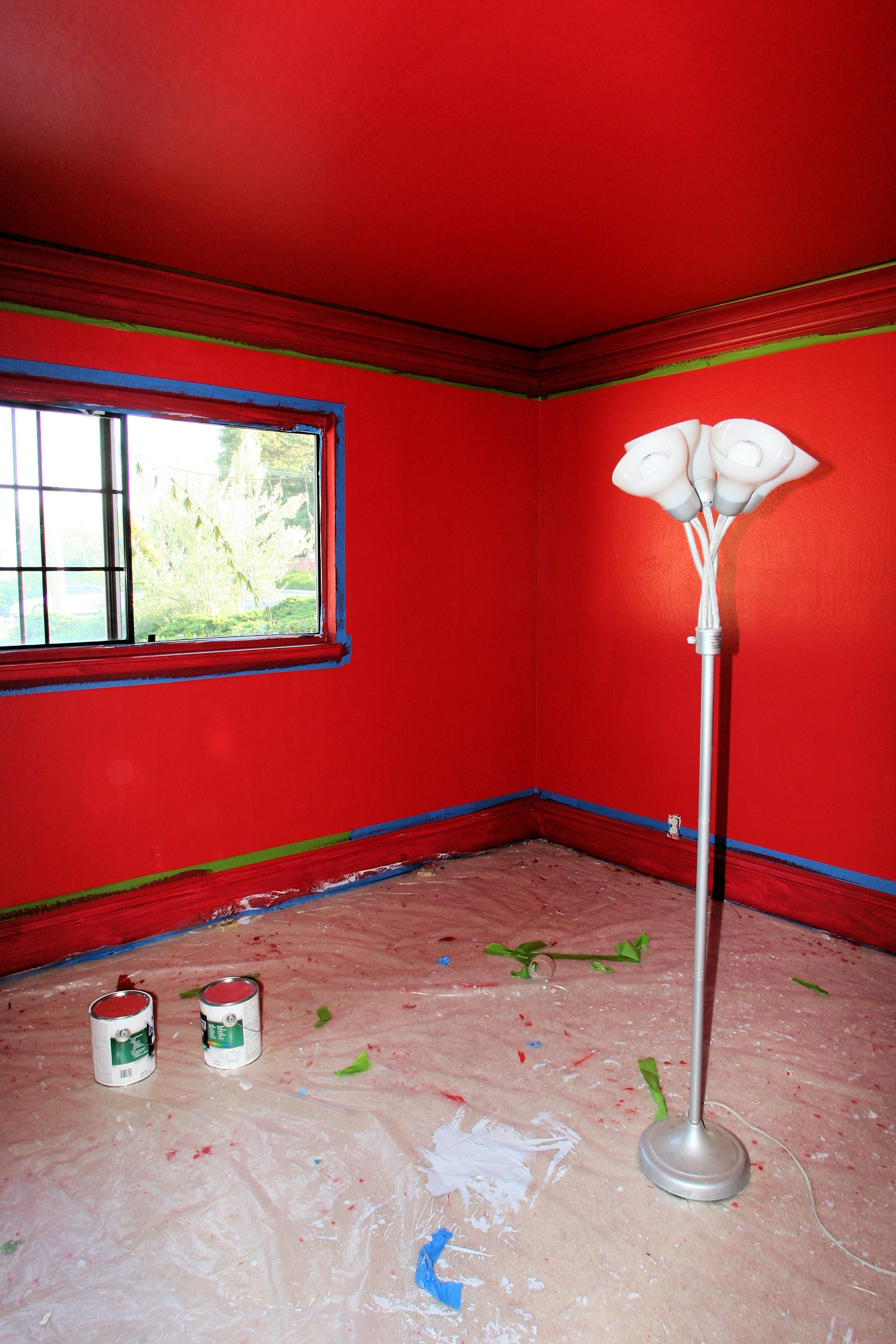 Fascinating Painting Room Red Pictures - Best idea home design .