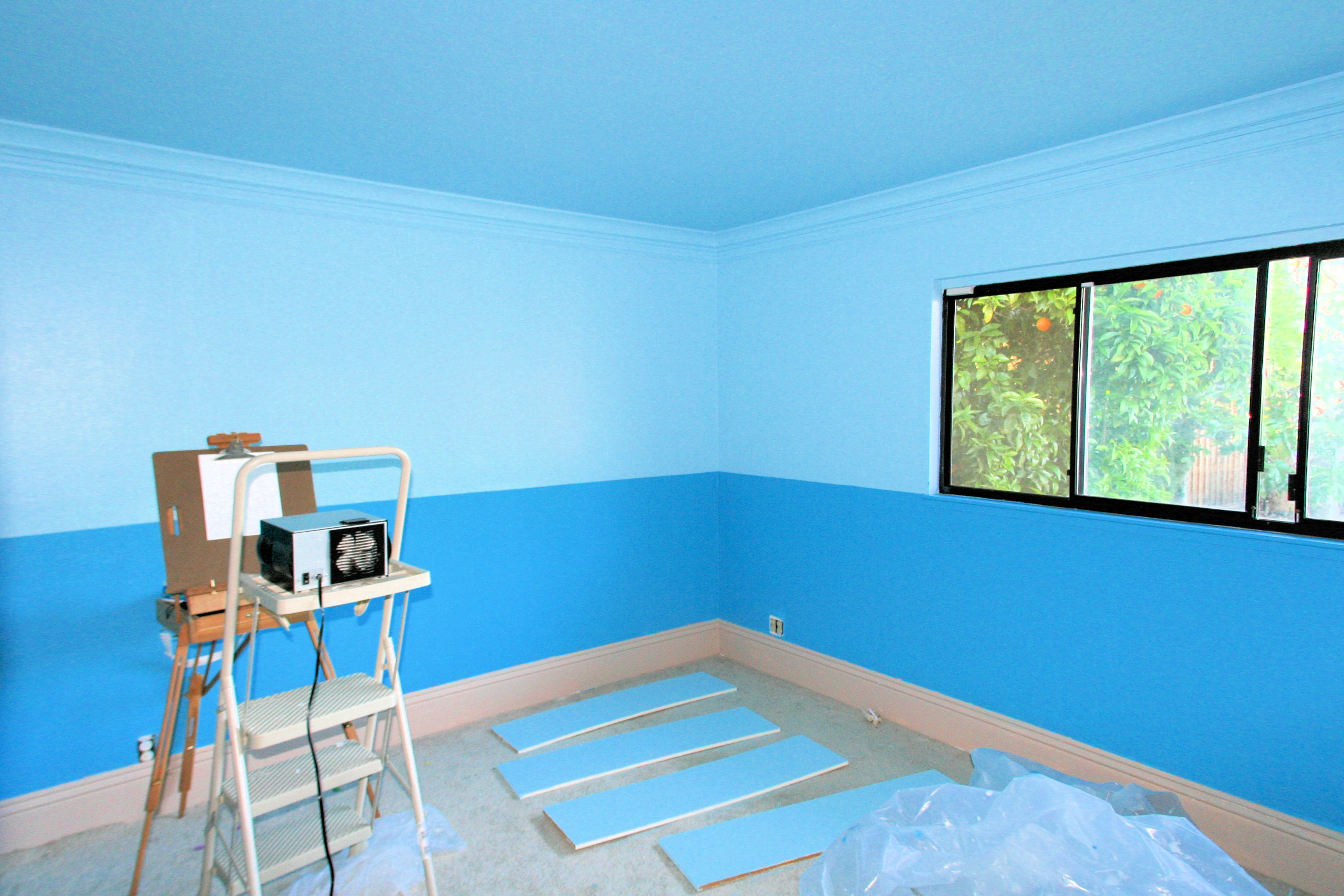 Painting A Room Blue Blue Room